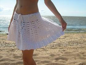 Советы при вязании юбки крючком