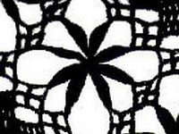 узор хризантемы крючком