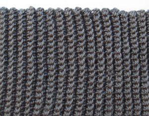 Связанный узор резинка