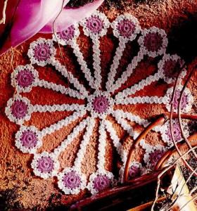 Красивое ажурное вязание
