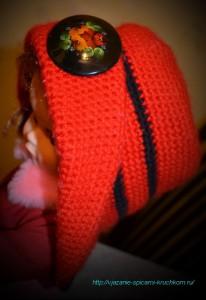 Кокетливая шляпка для девочки